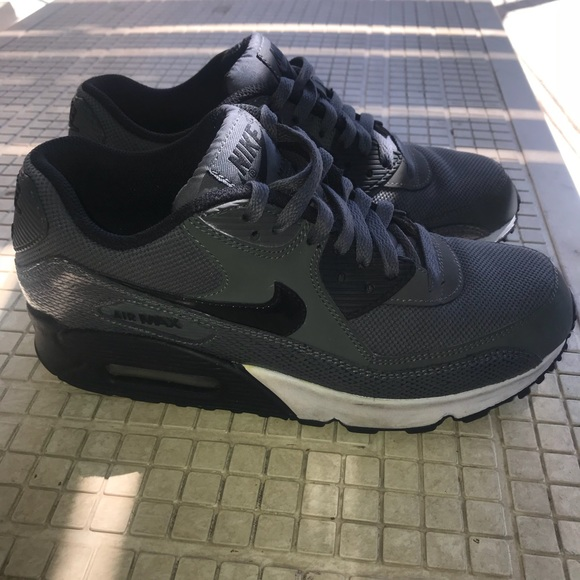 e13aa48039 Womens Air Max 90 Pure Platinum/ Dark Grey/ Black.  M_5ace55672ab8c5f045f688f9. Other Shoes ...